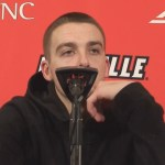 Louisville Basketball Ryan McMahon Postgame vs Akron