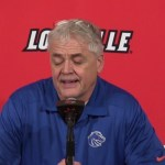 Boise State WBB Coach Gordy Presnell on Loss to #8 Louisville