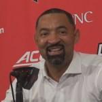 Michigan Basketball Coach Juwon Howard on LOSS to #1 Louisville
