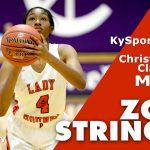 Paris HS Lady Hounds Basketball Zoe Strings 2019 KyGCC Tourney MVP