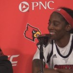 Louisville WBB Coach Walz, Jones, Evans on WIN vs Duke