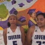 Caverna HS Girls Basketball Richardson & Gonzalez on WIN vs Hart County