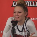 Louisville WBB Dana Evans & Kylie Shook on WIN vs Virginia