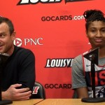 Louisville WBB Coach Jeff Walz & USA WBB Angel McCoughtry on Exhibition Game