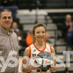 Hart County HS Girls Basketball Sophomore Haley Sturgeon Scores 1000th Point
