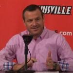 Louisville WBB Jeff Walz on WIN vs  Notre Dame