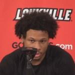Louisville Basketball Dwayne Sutton Previews Syracuse / Explains Losing Streak