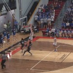 Warner Bryan DUNK for Larue County in 2020 5th Region Semifinals