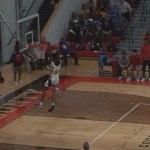Javaughn Smith STEAL/Breakaway DUNK For Bardstown HS in Semifinal Regional WIN