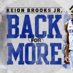 UK MBB: Brooks Jr. to Return to Kentucky for Sophomore Season