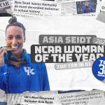 UK Swim & Dive's Seidt Moves On, Named to 2020 NCAA Woman of the Year Top 30 List