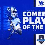 UK FB: Wilson, Horsey Named to 2020 Mayo Clinic Comeback Player of the Year Watch List