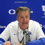 UK Wildcats Basketball Coach John Calipari After Loss to Notre Dame