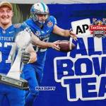 UK Football's Duffy, Young Named to AP All-Bowl Team