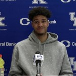 UK Wildcats Basketball Dontaie Allen Postgame vs Alabama Postgame