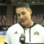 NKU MBB Coach Darrin Horn Postgame vs UIC Chicago Game 2