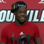 Louisville Cardinals Football QB Malik Cunningham After WIN vs UCF