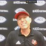 Louisville Cardinals Football Coach Satterfield After 31-23 WIN vs Florida State
