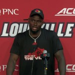 UofL Cardinals Justin Marshall Presser Postgame vs UVA 10 09 21