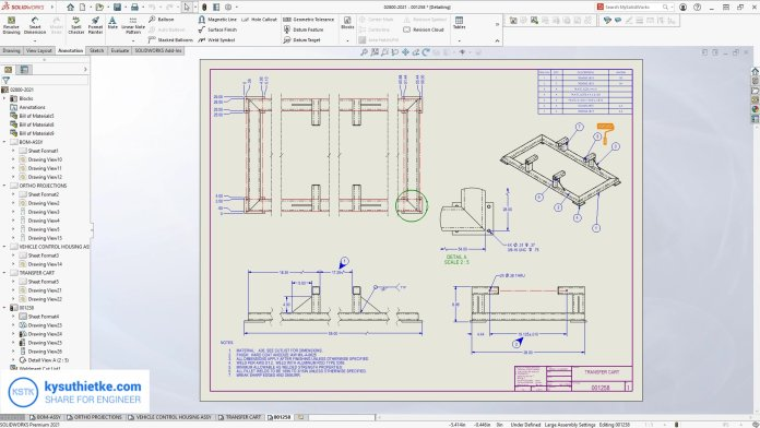 Giao diện phần mềm + Download SolidWorks 2021