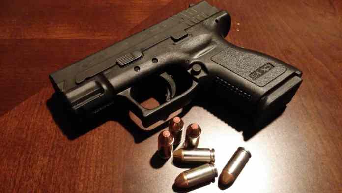handgun, pistol, firearms