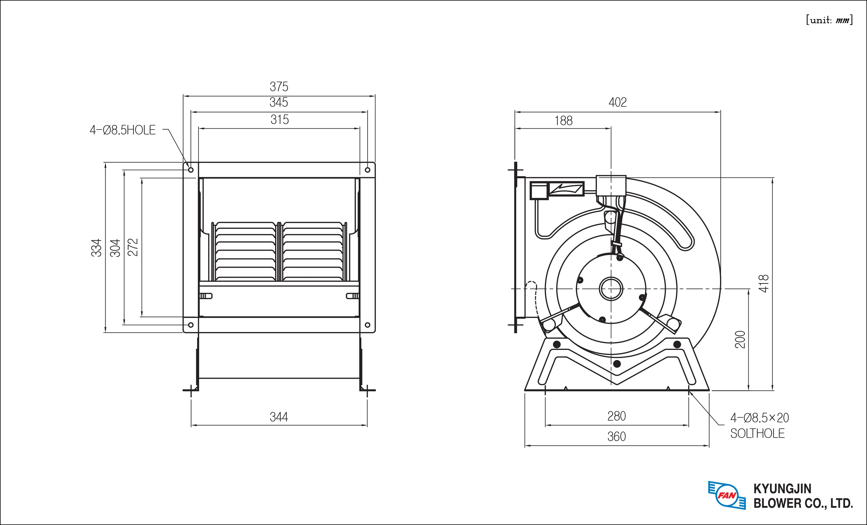 DOUBLE INLET FANS (CONSTANT TEMPERATURE AND HUMIDITY