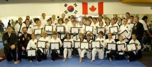 Peaceful Warriors Black Belt Grading 2009