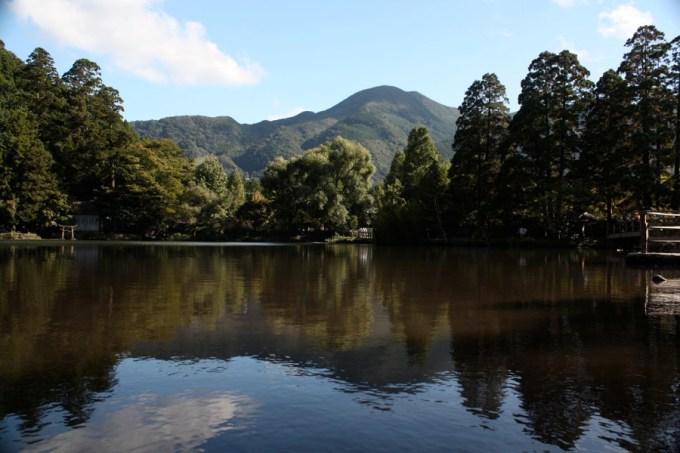 代表由布院的觀光地點「金鱗湖」