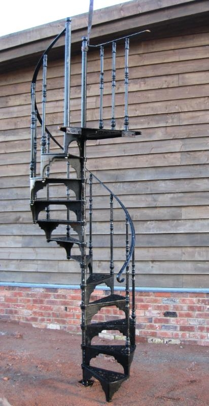 Metal Spiral Staircases Buy In Nur Sultan   Metal Staircase For Sale   Prefab   Outdoor   Contemporary   Tangga   Steel Structure