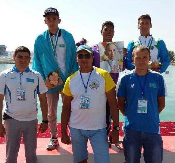 Оңтүстік спортшысы параканоэдан алғашқы Азия жүлдегері атанды