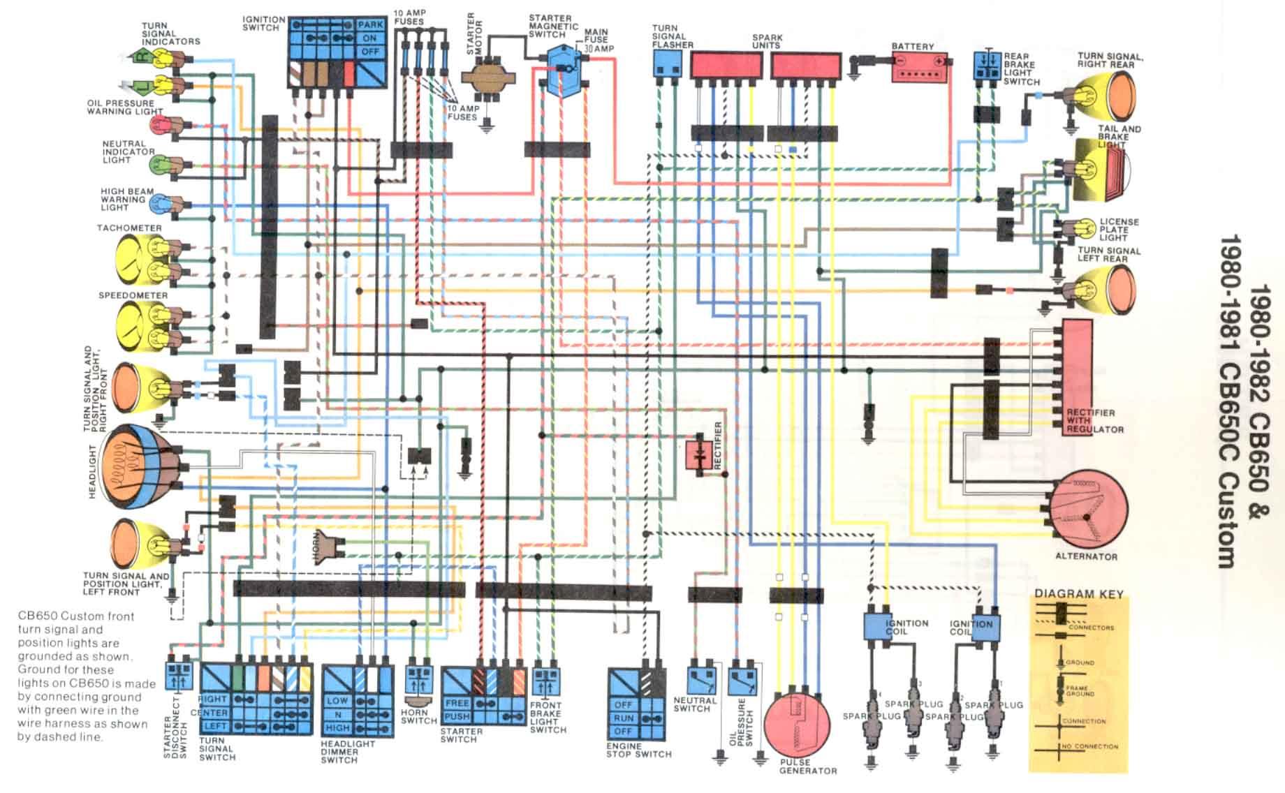 kawasaki kz1000 wiring diagram wiring diagrams clicks