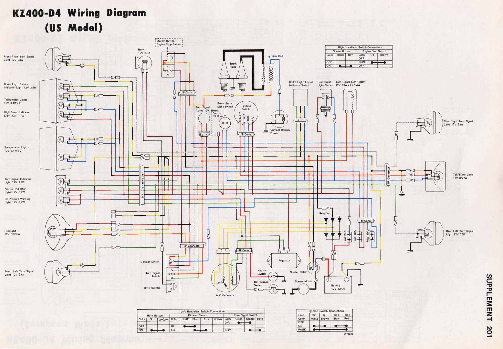hight resolution of kz400 wiring diagram