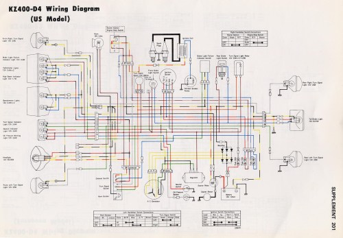small resolution of kz400 wiring diagram