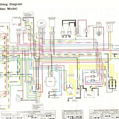 Motorcycle Wiring Diagram Explained 2003 Honda Accord Harness Kawasaki Electrical Library 1980 Kz750 Twin Example Rh Cranean Co 2005