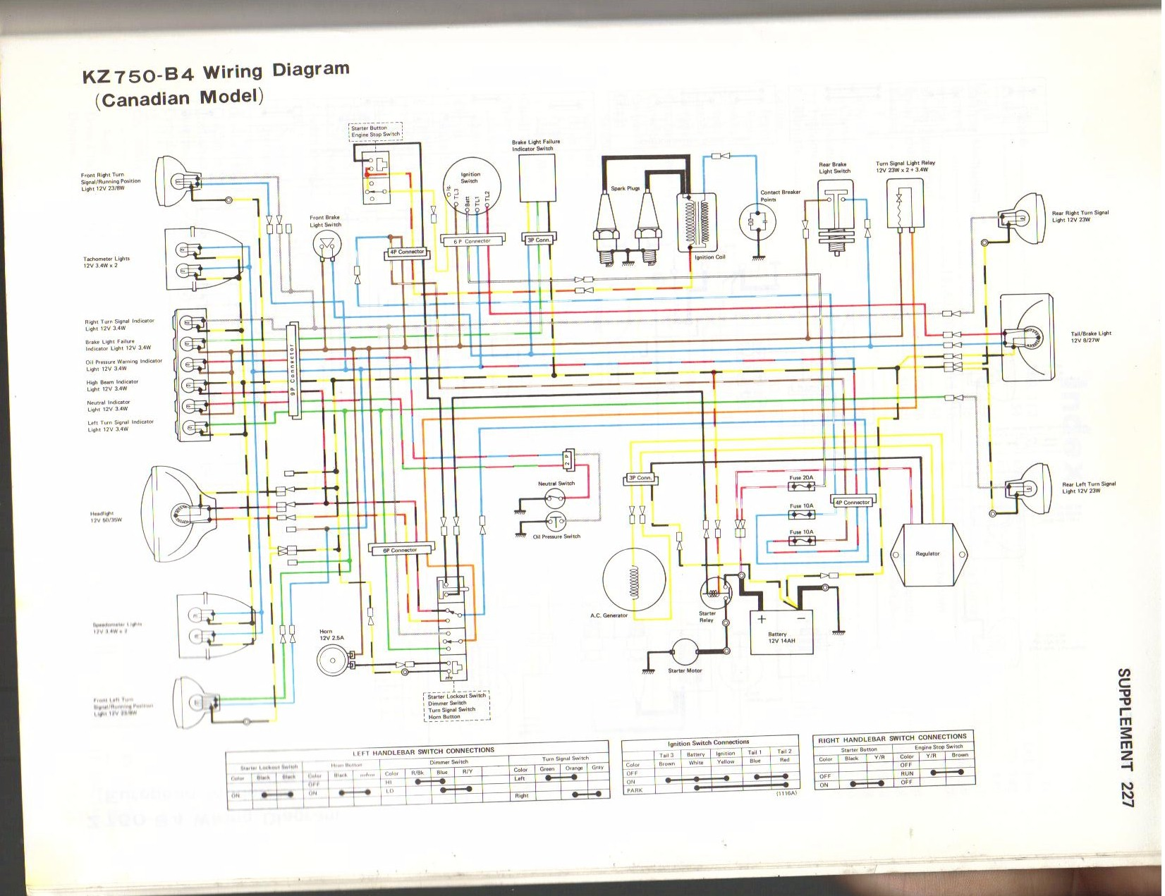 hight resolution of 1981 kawasaki wiring diagram wiring diagram fascinating 1978 kawasaki k z 750 wiring diagram