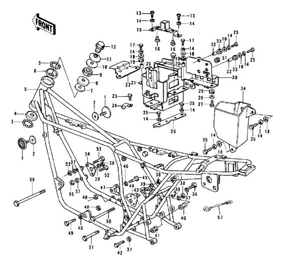 Kz900 Wiring Diagram Electrical Circuit Electrical Wiring Diagram