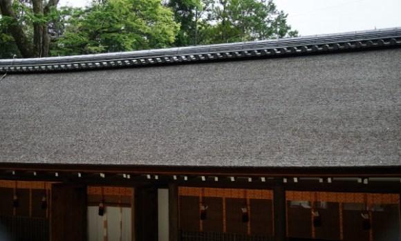 宇治上神社 拝殿 檜皮葺