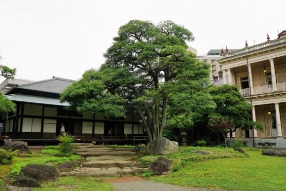 旧岩崎邸日本家屋