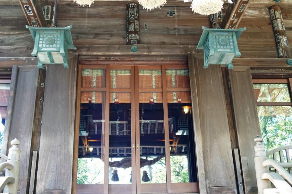 報徳神社拝殿