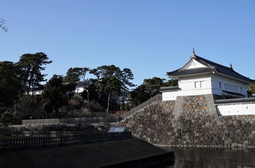 小田原城 堀