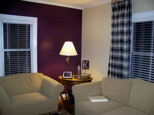 Accent Wall for Living Rooms Paint Color