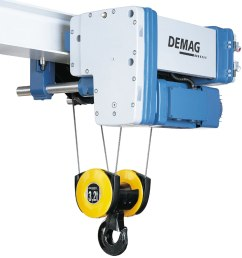 electric wire rope hoist demag  [ 1024 x 1024 Pixel ]