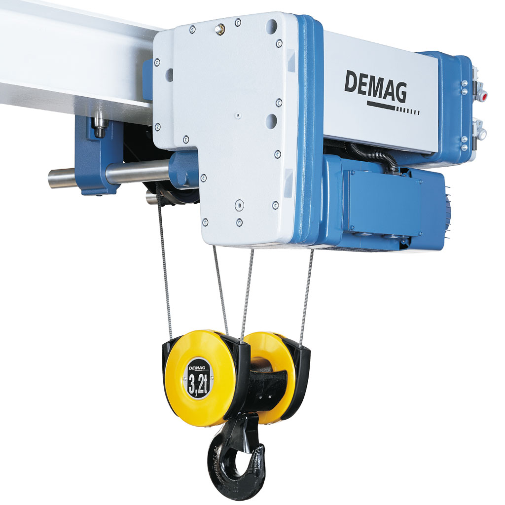 hight resolution of electric wire rope hoist demag