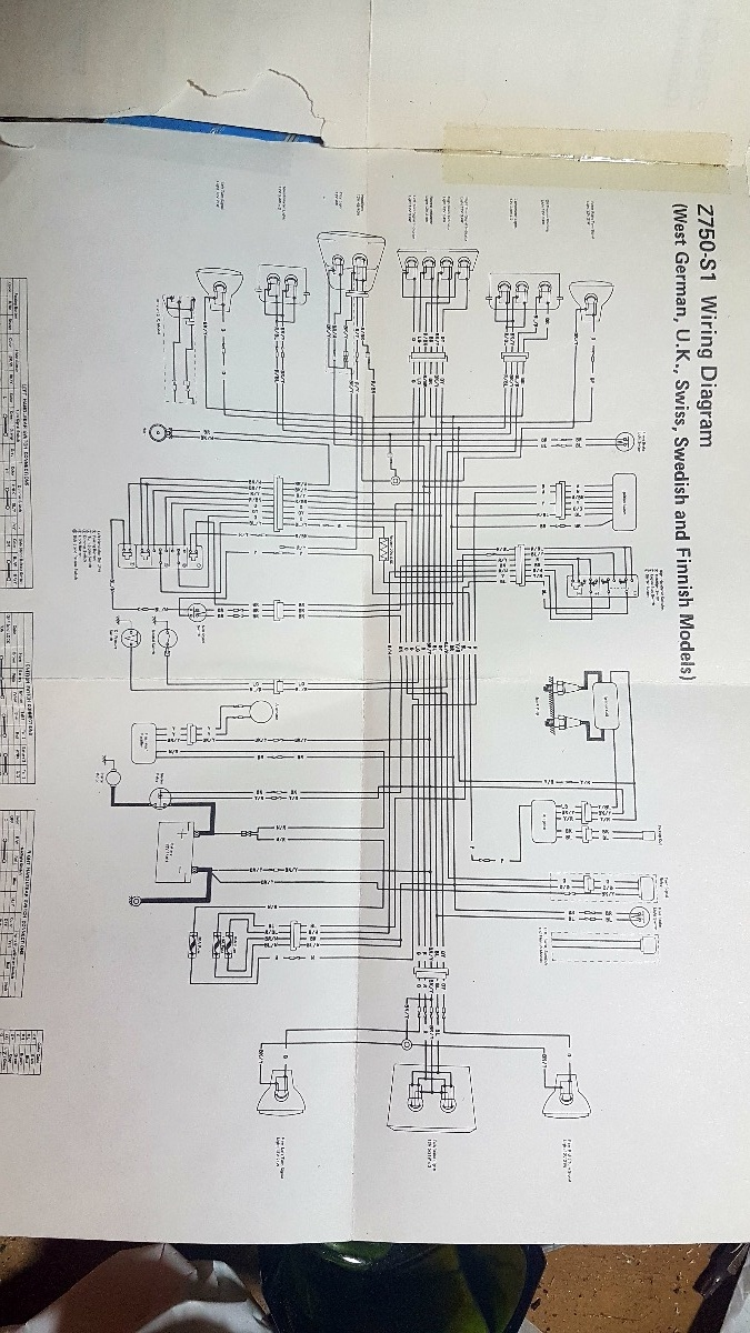 hight resolution of which wiring diagram kzrider forum kzrider kz z1 u0026 zkz750 wiring diagram