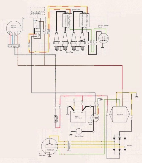 small resolution of wire diagram 1979 kz400 wiring diagram portal klr650 wiring diagram 1975 kawasaki kz400 wiring diagram