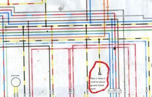 Stumped! Wiring Issue 82 KZ750 csr  KZRider Forum
