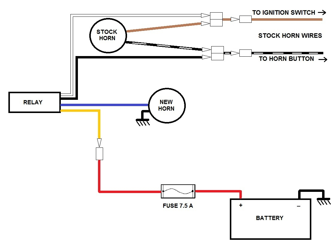 Diagram Hella Horn Wiring Diagram Full Version Hd