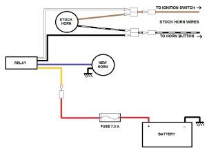 Horn wiring ?  KZRider Forum  KZRider, KZ, Z1 & Z
