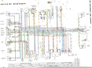 1982 Ignition switch wiring  KZRider Forum  KZRider, KZ
