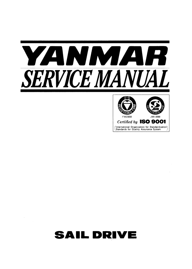 Yanmar Sd20 Saildrive Service Manual Epb5547